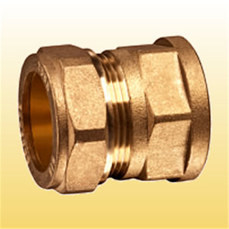 1/2 compression fitting for copper pipe female adaptor