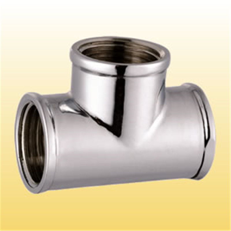Tee  Chrome Plated Thread Fitting