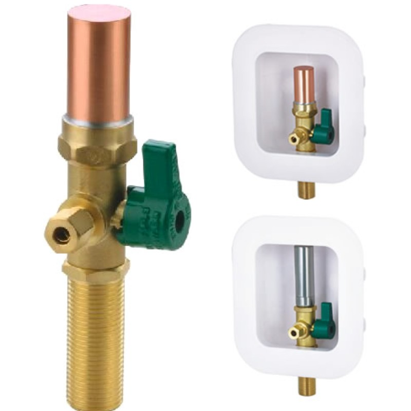 ICE MAKER BOX  VALVE WITH WATER HAMMER ARRESTOR